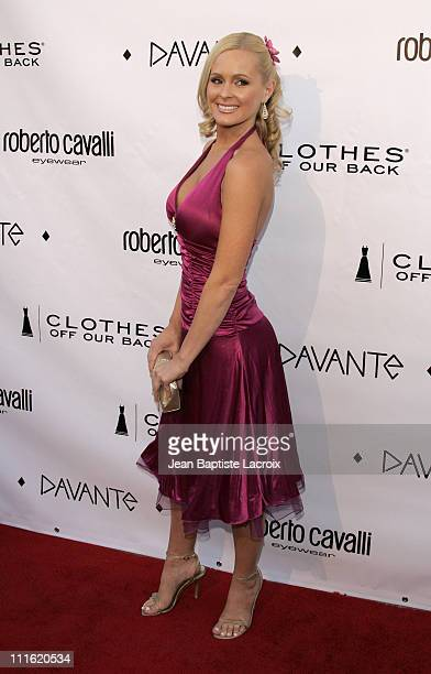 Katie Lohman during Davante Rodeo Drive Boutique Opening at Davante in Beverly Hills California United States