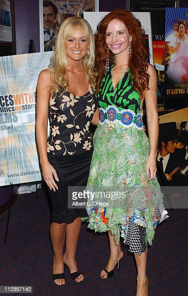 Katie Lohmann and Phoebe Price during Dances With Films Festival 'Survival of the Fittest' Screening at Laemmle Santa Monica in Santa Monica...