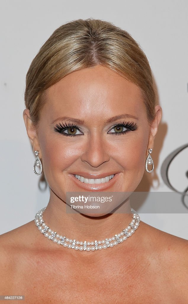 Katie Lohmann attends the Norby Walters 25th annual night of 100 stars Oscar viewing gala at The Beverly Hilton Hotel on February 22, 2015 in Beverly Hills, California.