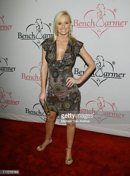 Katie Lohmann during 1st Annual Benchwarmer Trading Cards' Holiday Party and Toy Drive at Area in Los Angeles California United States