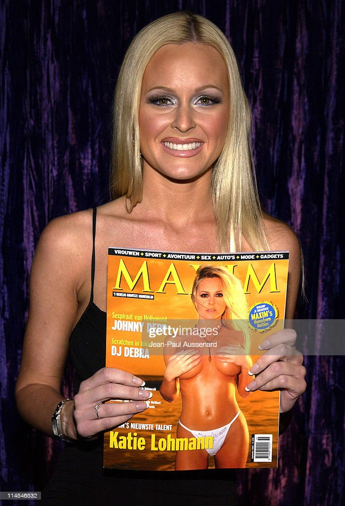 Katie Lohmann during 2004 Maxim Calendar Release Party at Bliss in Los Angeles, California, United States.