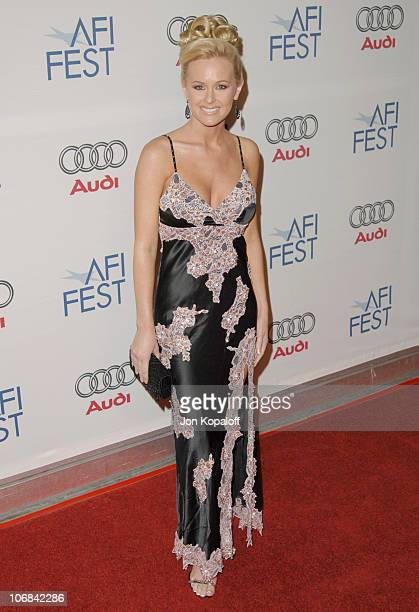 Katie Lohmann during AFI Fest 2005 Opening Night Gala Presents 'Walk the Line' Los Angeles Premiere Arrivals at ArcLight Hollywood Cinerama Dome in...