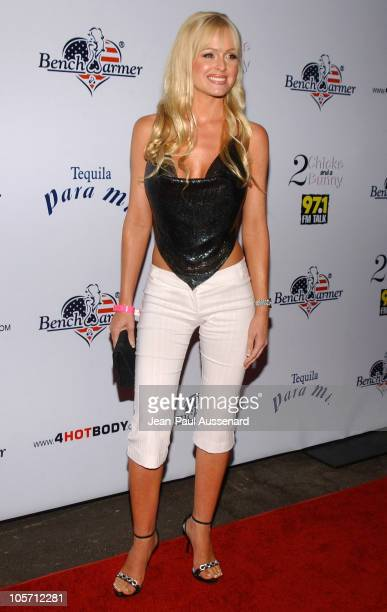Katie Lohmann during Bench Warmer's 2nd Annual 4th of July Celebration Arrivals at Montmartre Lounge in Hollywood California United States