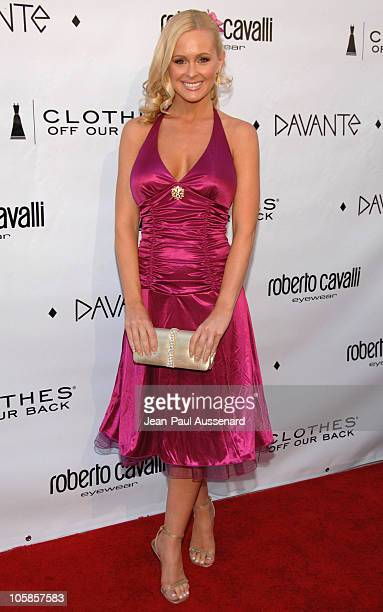 Katie Lohmann during Davante Rodeo Drive Boutique Opening at Davante in Beverly Hills California United States