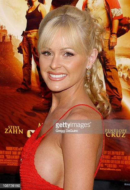 Katie Lohmann during 'Sahara' Los Angeles Premiere Arrivals at Grauman's Chinese Theatre in Hollywood California United States