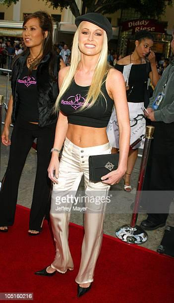 Katie Lohmann during 'SWAT' Premiere at Mann Village Theatre in Westwood California United States