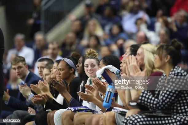 Katie Lou Samuelson of the Connecticut Huskies during the UConn Huskies Vs Oregon Ducks NCAA Women's Division 1 Basketball Championship game on March...