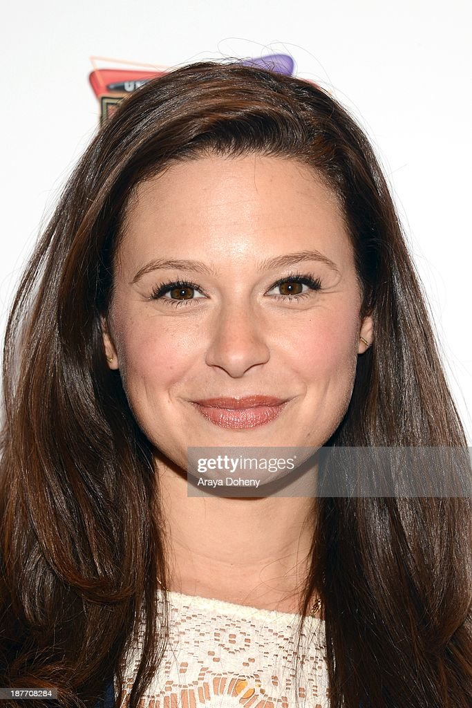 Katie Lowes attends the It'Sugar presents ceremonial check to actress and 'Scandal' star Katie Lowes on behalf of The Lollipop Theater Network at It'Sugar on November 11, 2013 in Universal City, California.