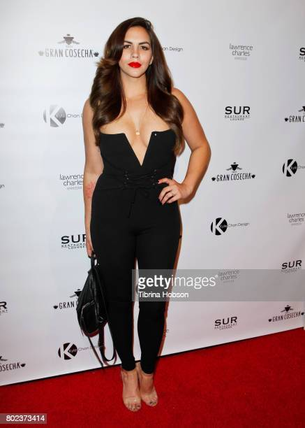 Katie Maloney attends Kyle Chan's 3rd annual #LOVECAMPAIGN Party at SUR Lounge on June 27 2017 in Los Angeles California