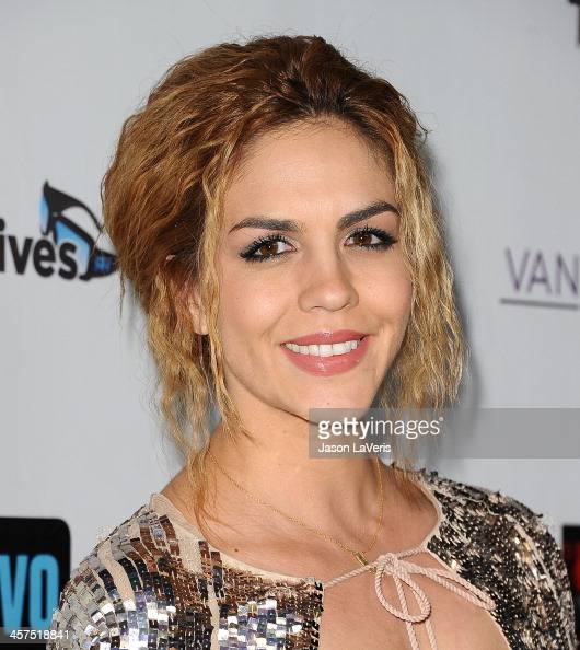 Katie Maloney attends the 'The Real Housewives of Beverly Hills' and 'Vanderpump Rules' premiere party at Boulevard3 on October 23 2013 in Hollywood...