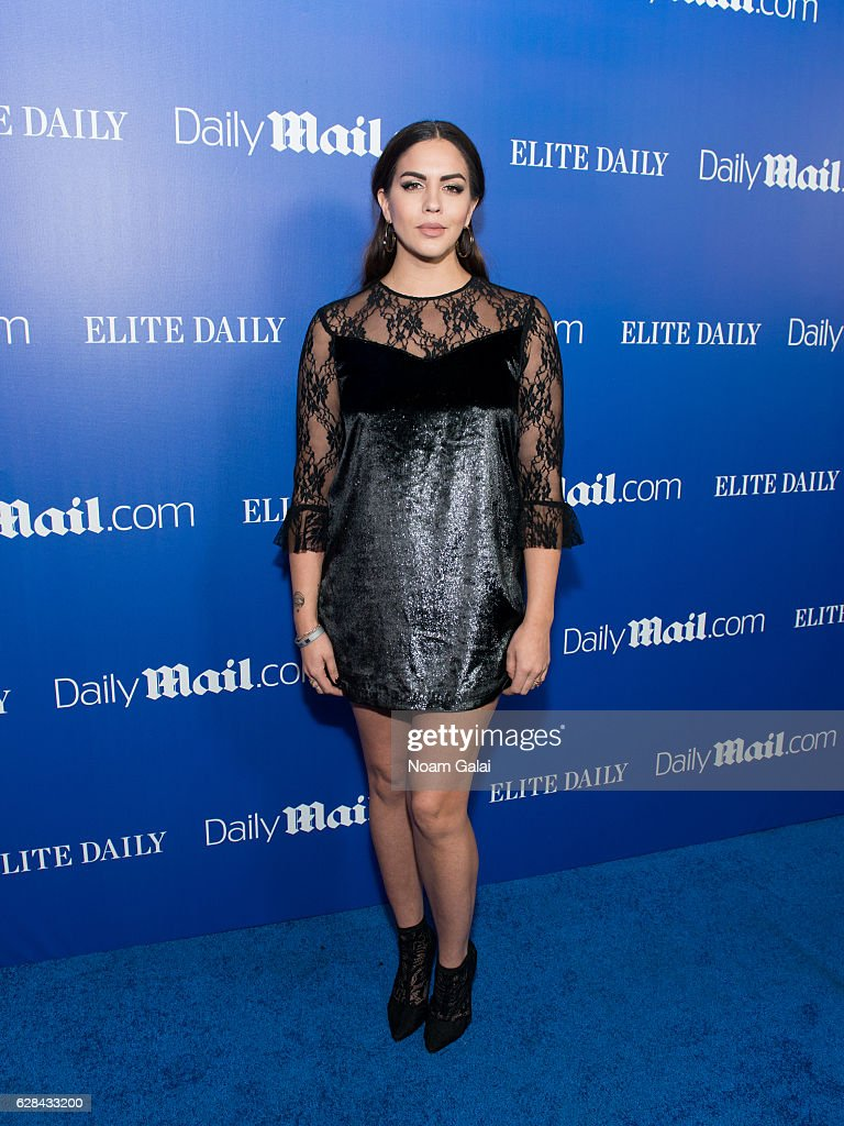 Katie Maloney-Schwartz attends the DailyMail.com and Elite Daily holiday party at Vandal on December 7, 2016 in New York City.