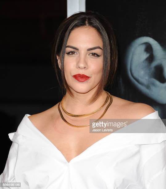 Katie MaloneySchwartz attends the premiere of 'Flatliners' at The Theatre at Ace Hotel on September 27 2017 in Los Angeles California