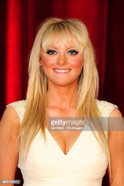Katie McGlynn arriving for the 2013 British Soap Awards at MediaCityUK Salford Manchester