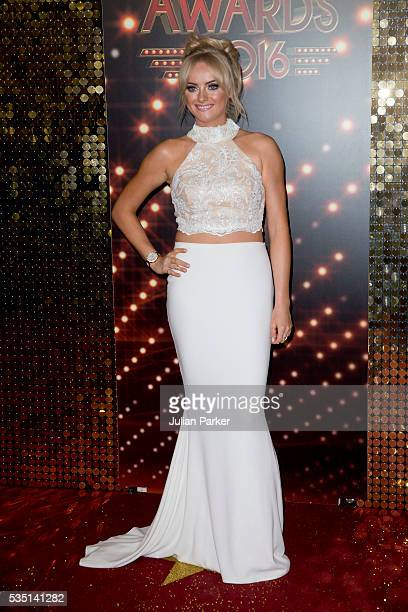 Katie McGlynn attends the British Soap Awards 2016 at Hackney Empire on May 28 2016 in London England