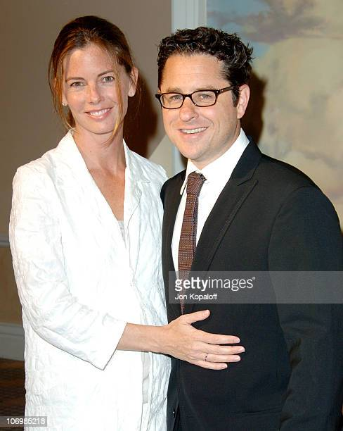 Katie McGrath and JJ Abrams during The Wellness Community Hosts 'Tribute to the Human Spirit' Awards Gala May 25 2006 at Beverly Hills Hotel in...