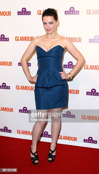 Katie McGrath attends the Glamour Women of the Year Awards at Berkeley Square Gardens on June 2 2009 in London England