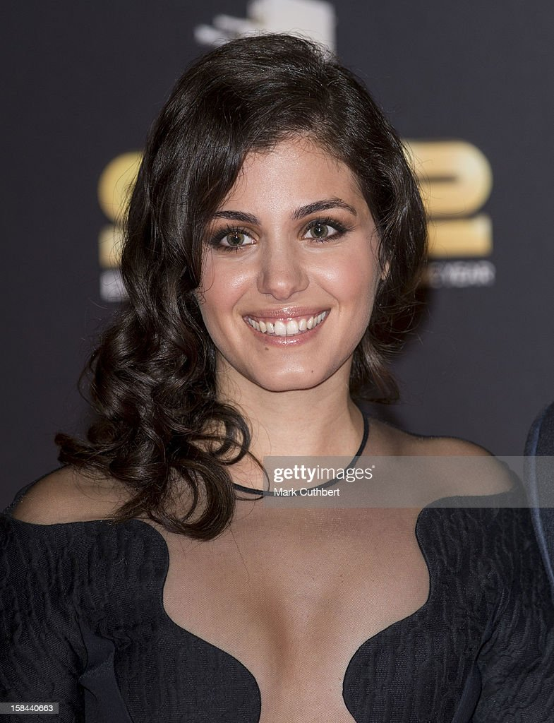 <a gi-track='captionPersonalityLinkClicked' href=/galleries/search?phrase=Katie+Melua&family=editorial&specificpeople=239516 ng-click='$event.stopPropagation()'>Katie Melua</a> attends the BBC Sports Personality Of The Year Awards at ExCel on December 16, 2012 in London, England.