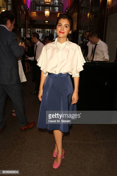 Katie Melua attends the Beards Jewellery London showroom launch party in the Royal Arcade Old Bond Street on July 6 2017 in London England