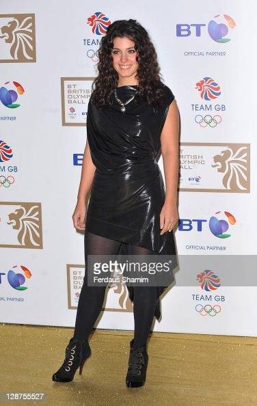 Katie Melua attends the British Olympic Ball at Olympia Exhibition Centre on October 7 2011 in London England