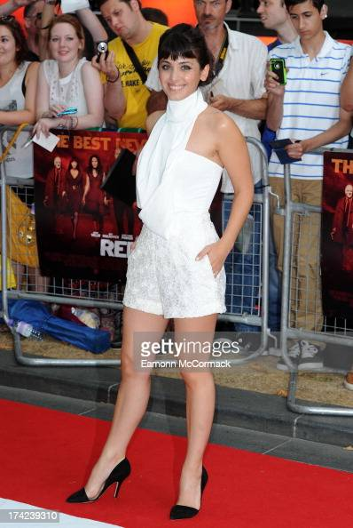 Katie Melua attends the European Premiere of 'Red 2' at Empire Leicester Square on July 22 2013 in London England