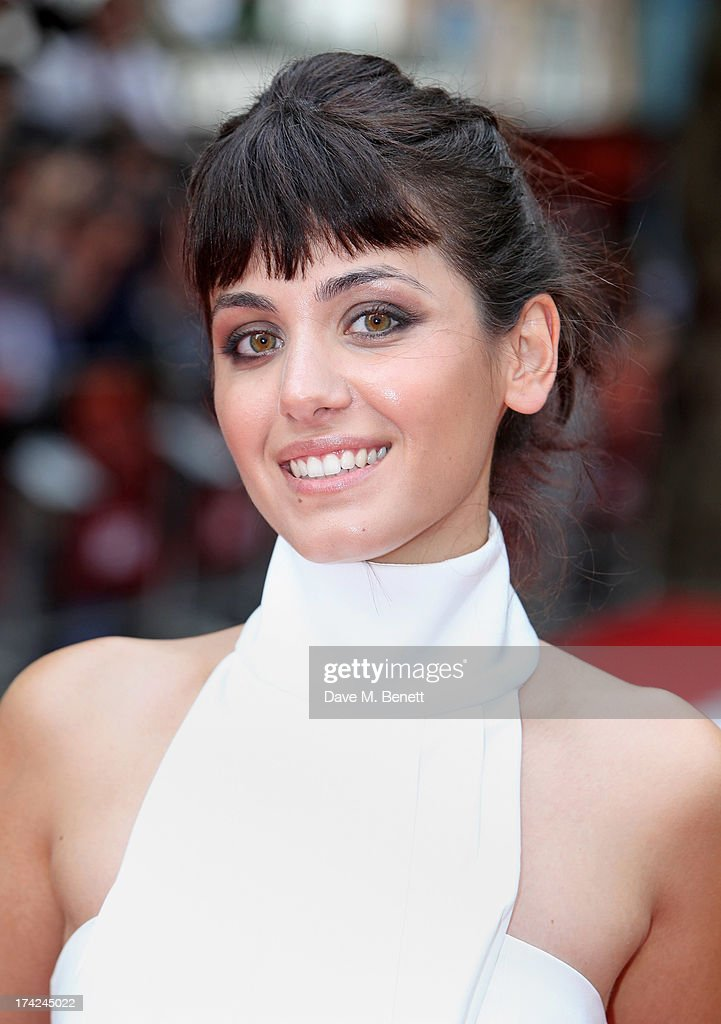 Katie Melua attends the European Premiere of 'Red 2' at the Empire Leicester Square on July 22, 2013 in London, England.