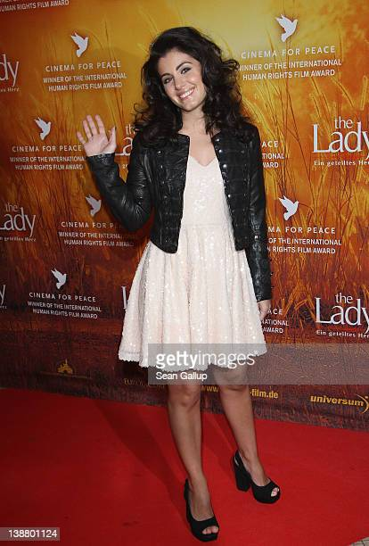 Katie Melua attends 'The Lady' Premiere during day four of the 62nd Berlin International Film Festival at the Astor Cinema on February 12 2012 in...