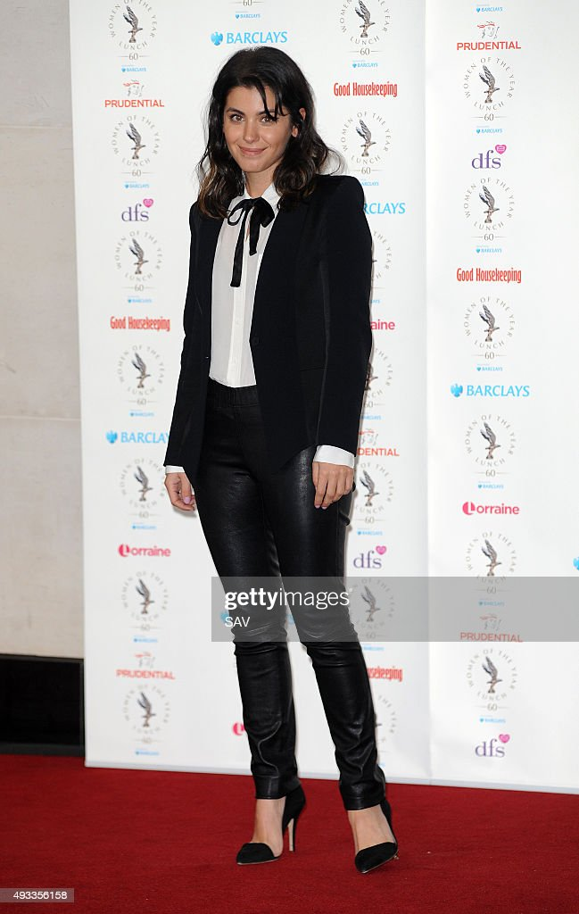 Katie Melua attends The Women Of The Year Awards at The Intercontinental Hotel on Park Lane on October 19 2015 in London England