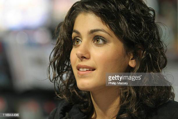 Katie Melua during Katie Melua CD Signing of Her New Album 'Piece By Piece' at HMV Dublin October 7 2005 at HMV Dublin in Dublin Ireland
