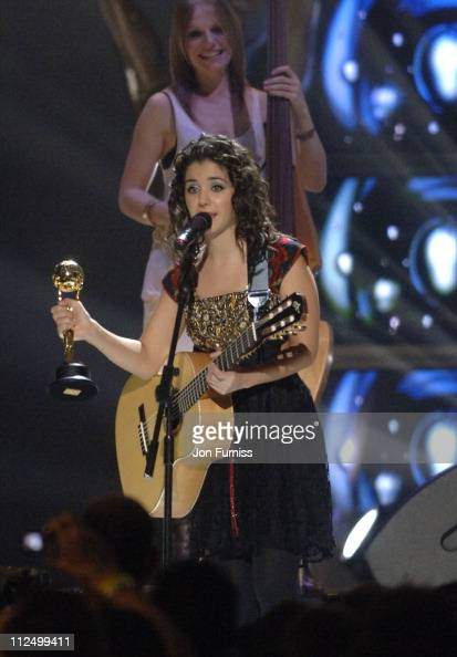 Katie Melua during World Music Awards 2006 Show at Earls Court in London Great Britain