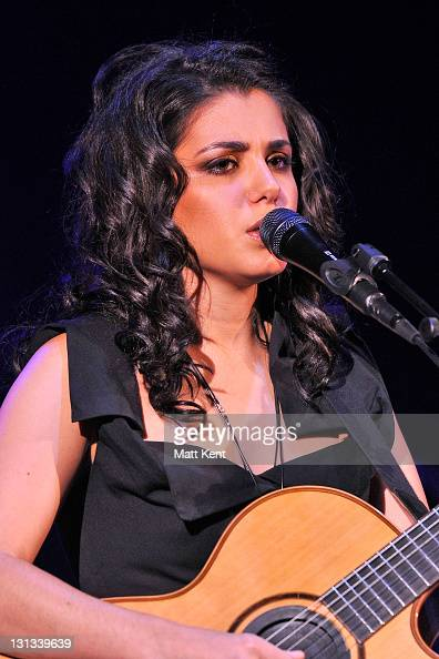 Katie Melua performs at Hammersmith Apollo on May 5 2011 in London England