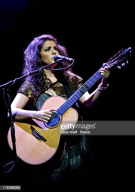 Katie Melua performs at L'Olympia on June 5 2011 in Paris France