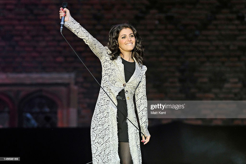 <a gi-track='captionPersonalityLinkClicked' href=/galleries/search?phrase=Katie+Melua&family=editorial&specificpeople=239516 ng-click='$event.stopPropagation()'>Katie Melua</a> performs on stage during the Hampton Court Palace Festival at Hampton Court Palace on June 22, 2012 in London, United Kingdom.