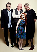 'Katie Morag' writer Sergio Casci director Don Coutts actress Cherry Campbell and executive producer Lindy Cameron pose for a portrait at the 75th...