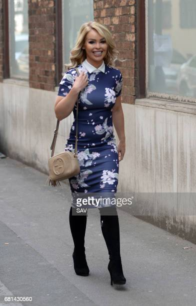 Katie Piper arrives at The AOL Building for the Build Series on May 10 2017 in London England