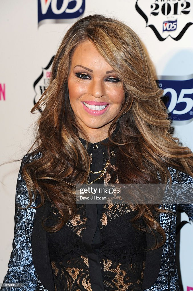 Katie Piper attends the Cosmopolitan Ultimate Woman of the Year awards at Victoria & Albert Museum on October 30, 2012 in London, England.
