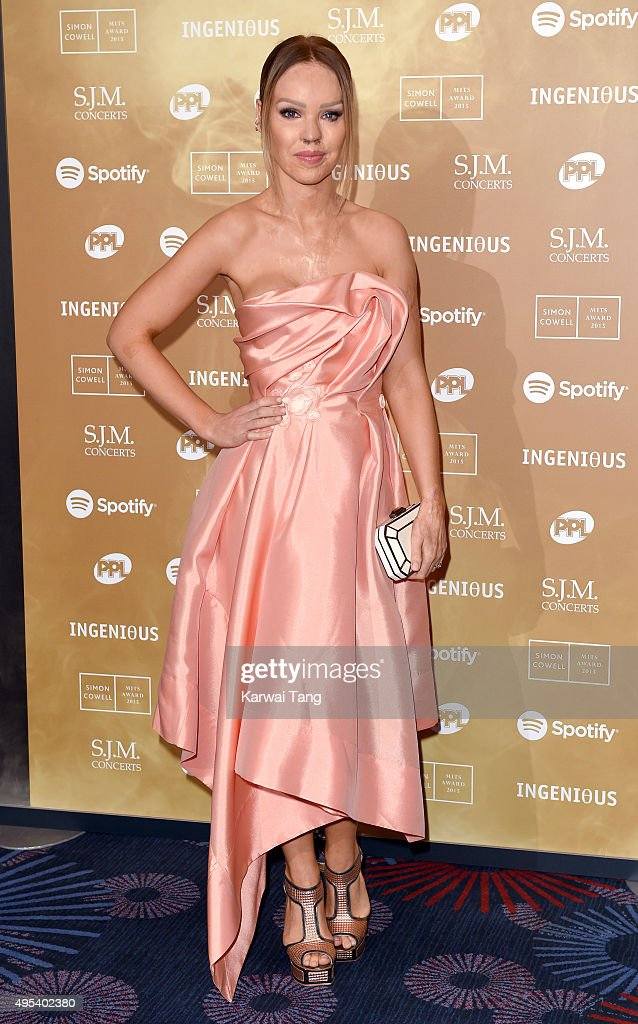 Katie Piper attends the Music Industry Trusts Awards in aid of the Nordoff Robbins charity and BRIT Trust at The Grosvenor House Hotel on November 2, 2015 in London, England.