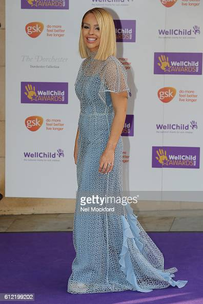 Katie Piper attends the WellChild Awards at The Dorchester on October 3 2016 in London England