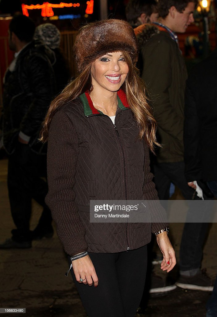 Katie Piper attends the Winter Wonderland launch party at Hyde Park on November 22, 2012 in London, England.