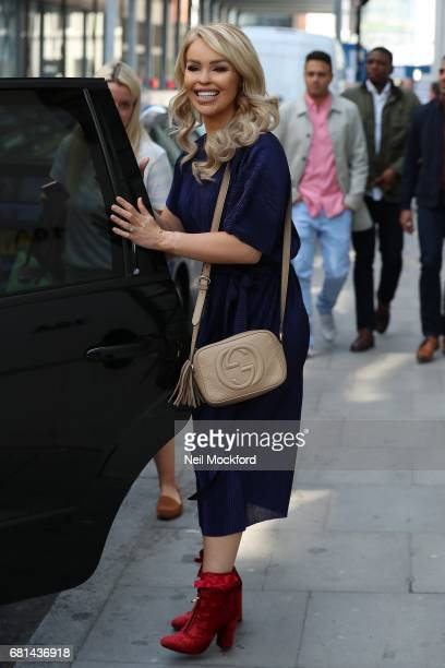 Katie Piper seen leaving the AOL BUILD Series LDN on May 10 2017 in London England