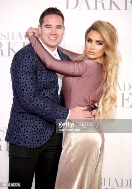Katie Price and Kieran Hayler attend the 'Fifty Shades Darker' UK Premiere on February 9 2017 in London United Kingdom