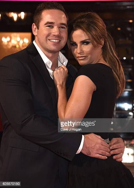 Katie Price and Kieran Hayler attend the ITV Gala hosted by Jason Manford at London Palladium on November 24 2016 in London England
