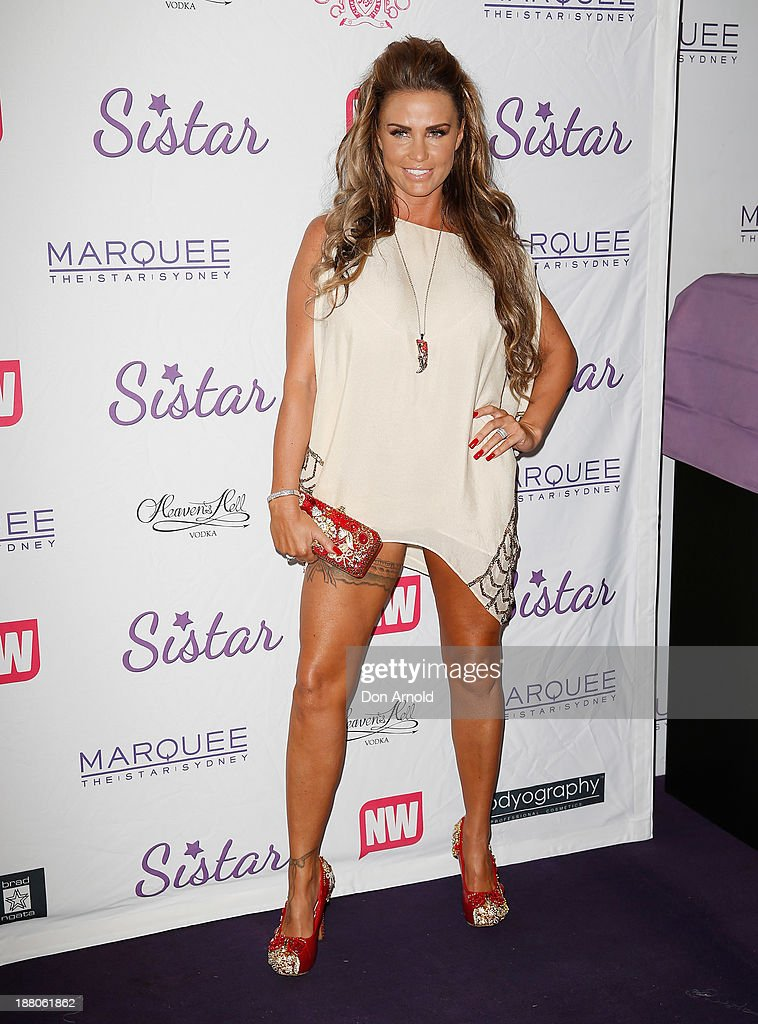 <a gi-track='captionPersonalityLinkClicked' href=/galleries/search?phrase=Katie+Price&family=editorial&specificpeople=260303 ng-click='$event.stopPropagation()'>Katie Price</a> appears at Marquee Nightclub on November 15, 2013 in Sydney, Australia.