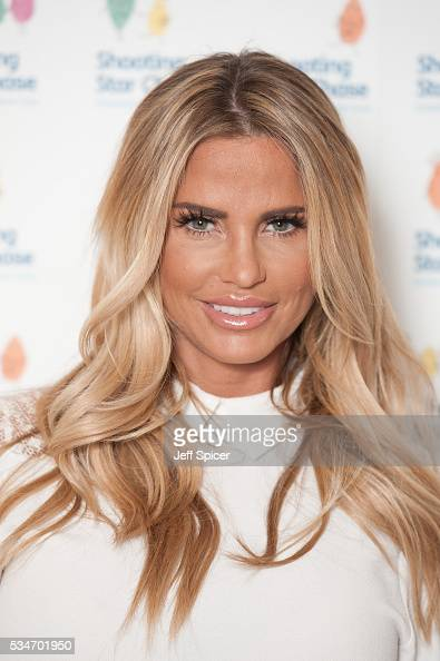 Katie Price arrives for Star Chase Children's Hospice Event at The Dorchester on May 27 2016 in London England