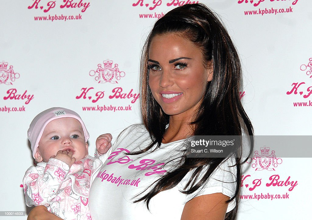 Katie Price Launches Her New Baby Clothes Range - KP BABY - Photocall