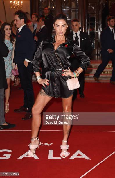 Katie Price attends the ITV Gala held at the London Palladium on November 9 2017 in London England