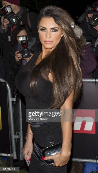 Katie Price attends the Sun Military Awards at Imperial War Museum on December 6 2012 in London England