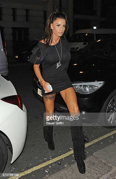 Katie Price is seen on November 03 2012 in London United Kingdom