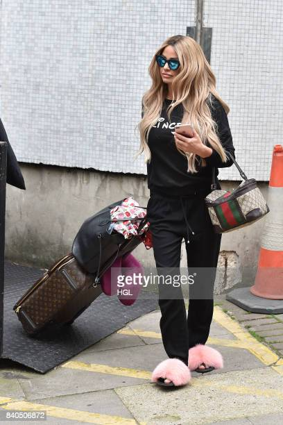 Katie Price seen at the ITV Studios on August 29 2017 in London England