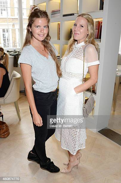 Katie Readman and Alice Naylor Leyland attend a summer sale at Grace Belgravia in aid of Silent No More the campaign raising money for the...