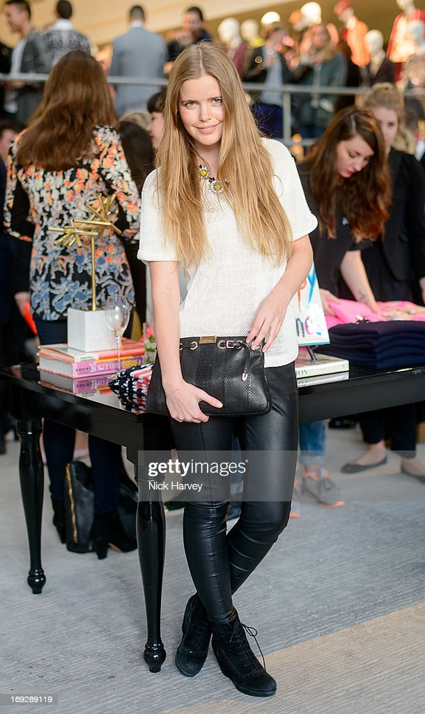 Katie Readman attends private event to celebrate J.Crew And Central Saint Martins partnership at J.Crew on May 22, 2013 in London, England.